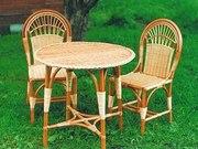 Оригинальные корзинки и экологически чистая мебель.