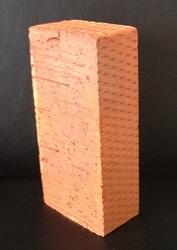 Кирпич цокольный,  керамический,  одинарный полнотелый рядовой М150