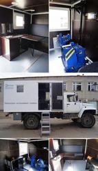 Лаборатория исследования скважин на базе ГАЗ 33081 Садко