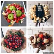 Фруктовый букет Тюмень,  букет из фруктов и овощей Тюмень